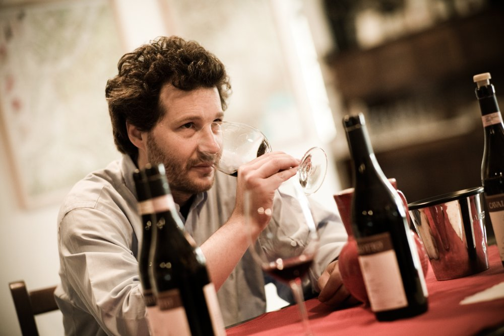 Alfio Cavallotto - one of the most famous wine makers from Piedmont