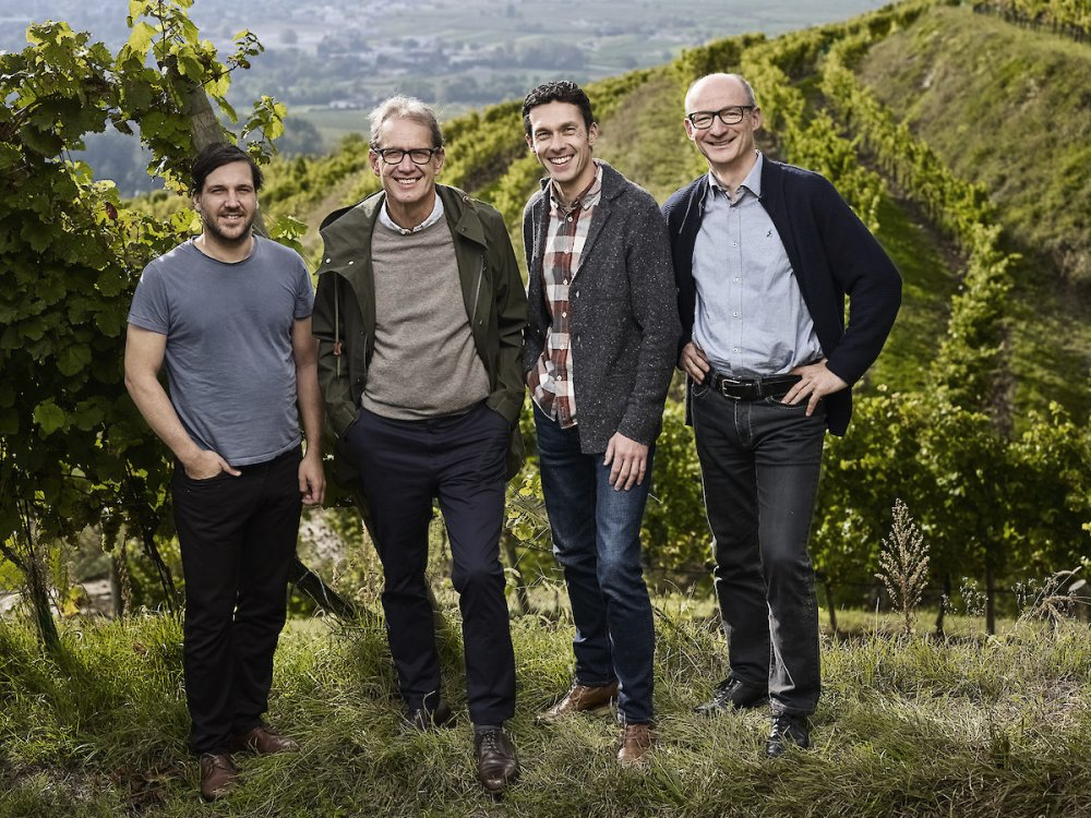 Willi Bründlmayer and his team of the wine estate Bründlmayer
