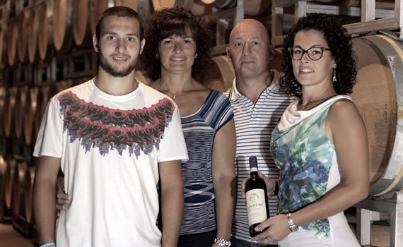 Family Corino from the wine estate Giovanni Corino