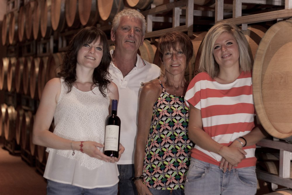 Family Alessandria from the wine estate Gianfranco Alessandria