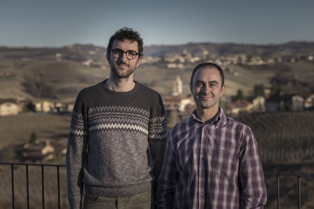 Paolo & Silvio Grasso from the wine estate Silvio Grasso