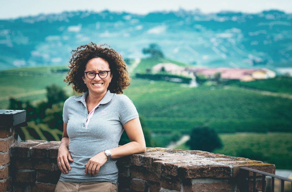 Silvia Altare from the wine estate Elio Altare