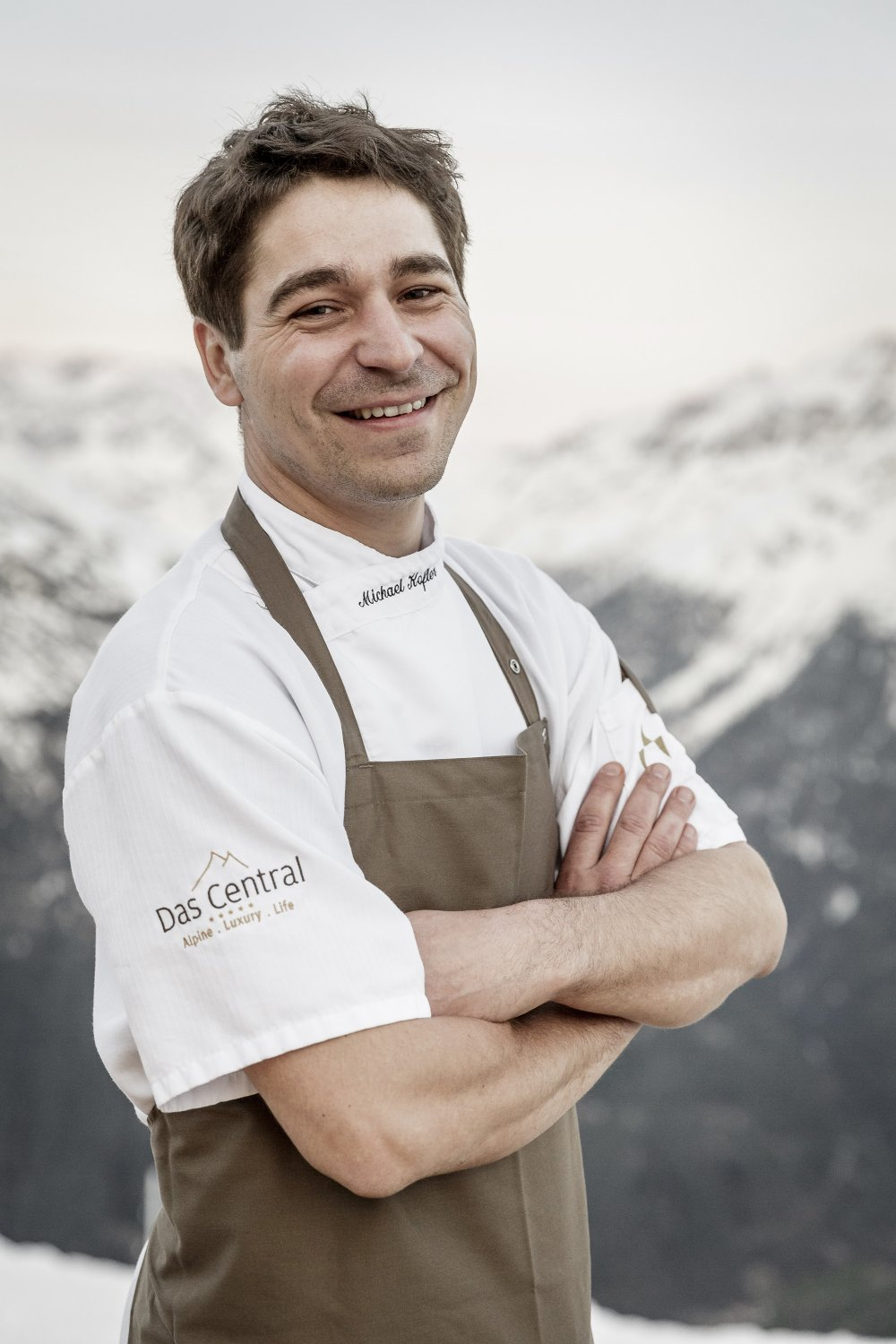 Michael Kofler - chef at the 5-star hotel DAS CENTRAL in Solden, Tyrol