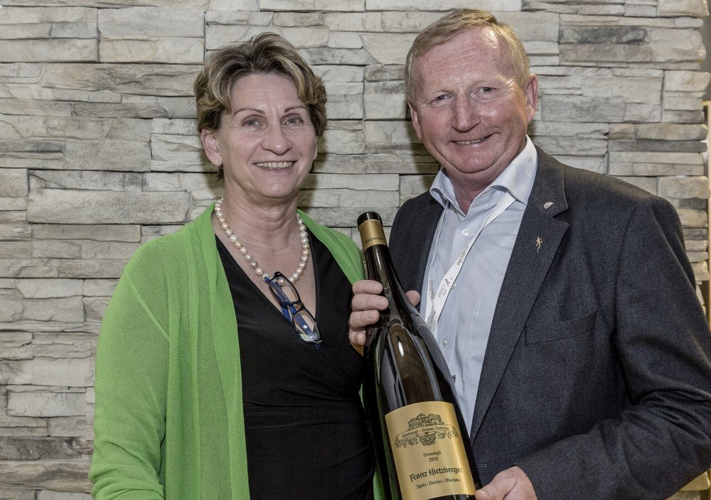 Franz & Irmi Hirtzberger at Wein am Berg in Sölden