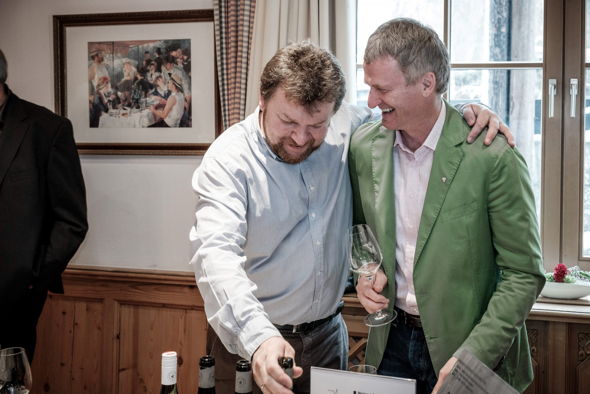 Albert Gesellmann & Paul Achs - one of the best red winemakers in Austria